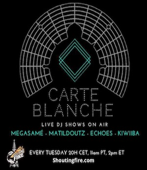 Carte Blanche – Live from Paris – Every Tuesday
