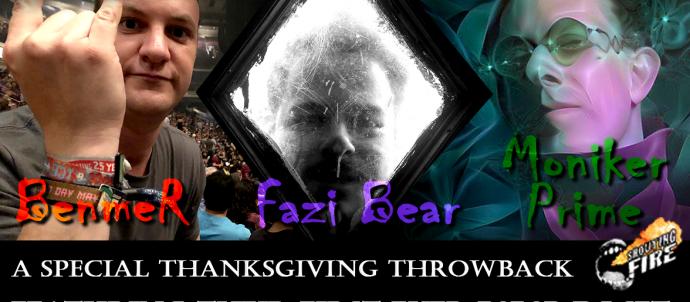 Thanksgiving programming on shouting fire